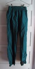 Vintage Columbia Uninsulated Nylon Shell All Weather Snow Rain Pants Womens S