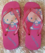 Hello Kitty Platform Flip Flops Sandals Size M (7-7.5)