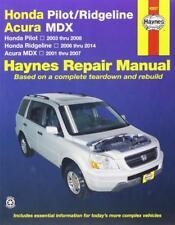 Haynes Honda Ridgeline 06-14 RTX se SPORT Proprietari Manuale Servizio Riparazione Manuale
