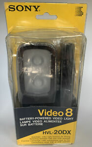 Sony HVL-20DX Battery Video Light 10W and 20W New Open Box