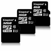 Kingston 8GB 16GB 32GB Memory Card Class10 Micro SD MicroSD TF Flash Memory Card