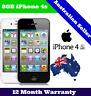 (NEW IN SEALED BOX) Apple iPhone 4s | Unlocked | 1 Year Warranty 8GB 16GB 32GB