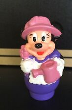 "Vintage Minnie Mouse-Farmer 2.5"" Figure Figurine Walt Disney Toy Gardener Arco"