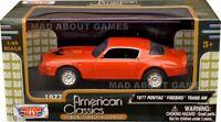 PONTIAC FIREBIRD TRANS AM 1977 1:43 Car Model Die Cast Metal Models Miniature