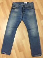 Men Diesel BUSTER STRETCH Denim 0840L BLUE REGULAR SLIM W29 L30 H6 RRP£150