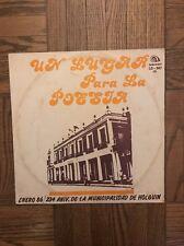 """Cuban record LP Poetry Compilation """"UN LUGAR PARA LA POESIA"""" Siboney LD 347"""