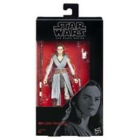 "STAR WARS THE BLACK SERIES REY (JEDI TRAINING) 6"" ACTION FIGURE TOY"
