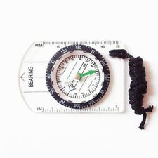 Multifunctional Compass Map Scale Ruler Outdoor Hiking Camping Survival Kit UK
