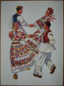 "Croatia Folk Dances - ""Kolo"" Posavina - V/02"