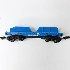 Mattel Hot Wheels Railroad Sto N Go Conrail Blue Freight Carrier 1983