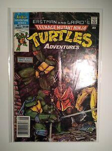 Teenage Mutant Ninja Turtles Adventures #1 | 1st Krang | Archie 1988
