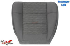 2003 Ford F150 XLT SPORT XL X-CAB -Passenger Side Bottom Cloth Seat Cover Gray