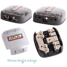 Audio System Z-DB4 4-fach Plus- und Minus-Verteiler 12V Kabelverteilerblock Auto