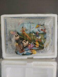 "Disney Seasons of Friendship ""Spring Breeze"" Collectors Plate Bradford Exchange"