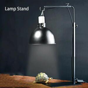 Adjustable Light Stand UV UVB Heat Lamp Bracket For Tortoise Reptile Lizard Pet