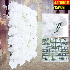 Künstliche Blumenwand Rosenwand 40x60cm für Hochzeit Straße Hintergrund Farbwahl