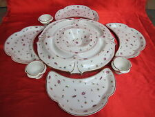 Original centre de table service hors d oeuvres salade sauce porcelaine LIMOGES