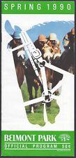 EASY GOER IN 1990 METROPOLITAN MILE HANDICAP HORSE RACING PROGRAM!