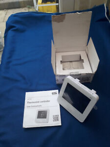 ESI Controls Ltd Programmable Room Thermostat Flush Mounted Model ESRTP6C