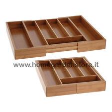 Portaposate in legno ebay - Porta posate da cassetto ...