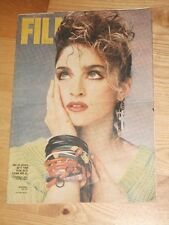 VERY RARE Film magazine 41 1989 Madonna on cover * Sabrina Salerno Liv Ullmann