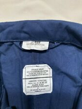 U.S. Navy Coveralls. Blue. Nsn 8405-01-057-3496. Size 46R.