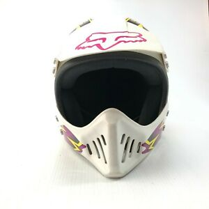 Vintage Vector Sports BMX motocross helmet size small made in USA
