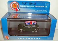 VANGUARDS 1/43 VA01311 AUSTIN MINI BRITISH RACING GREEN