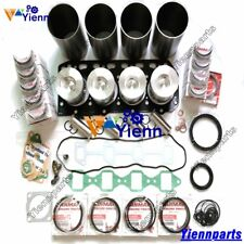 4TNE84 Overhaul Rebuild Kit For Yanmar Engine Daewoo DSL601 Mastung 940 Loader