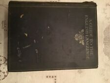 Second Hand Books( A Guide to English Language)1915 by London T. C. & E. C .Jack