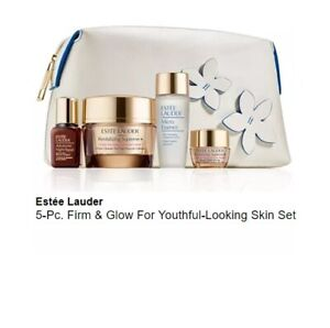 Estee Lauder 5 pc Firm and Glow for youthful looking skin set, NEW, SEALED