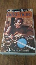 Ben-Hur - Charlton Heston - Vhs Video