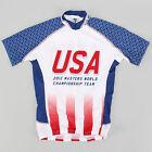Voler USA Masters 2012 World Championship Cycling Team SS Jersey MEDIUM