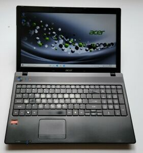 ACER ASPIRE 5253 AMD E-350 1.6GHz 6GB RAM 500GB HDD Win10