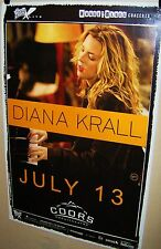 DIANA KRALL in Concert Show Poster Denver Colorado 7-13-2012 Coors Theater COOL