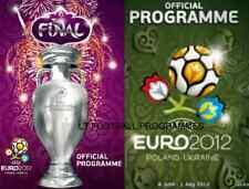 * EURO 2012 FINAL SPAIN v ITALY & TOURNAMENT PROGRAMME *