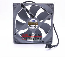 for AVC 12CM DA12025B12H 12V 0.75A 4-pin PWM dual ball-blow fan chassis