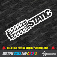 STATIC V2 Coilover Vinyl Decal Sticker Low Car Window Slam Racing Stance