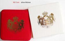 leere Originalbox für 2 Euro Monaco wahlweise # 2007,2011,2013,2015,2016