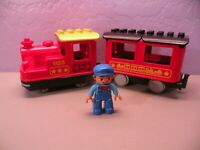 Lego Duplo steam train 925 works Push n go From 10874 Duplo train station