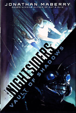Jonathan Maberry THE NIGHTSIDERS: VAULT OF SHADOWS Signed First Printing HC/DJ