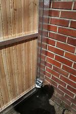 Einfahrtstor Hoftor Gartentür 1,05m x 1.80m für eine bauseitige Holzfüllung Tür