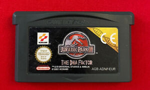 Jurassic Park III DNA Factor Cartridge Only Nintendo Game Boy Advance - TESTED