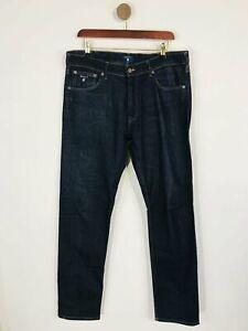 Gant Men's Straight Jeans   W34   Blue