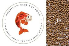 Bulk Koi Fish Food LARGE Floating Pond Pellets 36% Protein 25 lb Bag