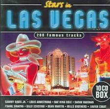 VARIOUS ARTISTS - STARS IN LAS VEGAS: 200 FAMOUS TRACKS USED - VERY GOOD CD