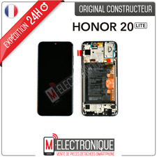 ECRAN LCD MIDNIGHT NOIR + BATTERIE ORIGINAL HUAWEI HONOR 20 LITE