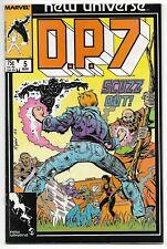 D.P. 7 #5 (Marvel, 1987) – New Universe – Mastodon – VF/NM