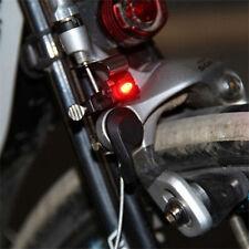 1x Mini Bike Brake Light Mount Tail Rear Bicycle Cycling LED Safety Warning Lamp
