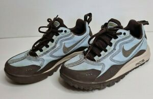 Nike Air ACG Wildwedge Hiking Sneakers Womens Size 7 Light Blue and Brown